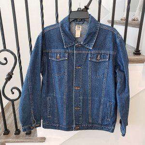 Genuine Class Club Jean Jacket Misses Size 16